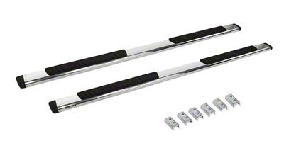 Go Rhino 5 in. OE Xtreme Composite Side Step Bars - Chrome (09-18 RAM 1500 Crew Cab)