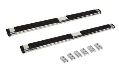 Go Rhino 6 in. OE Xtreme Side Step Bars - Stainless Steel (09-18 RAM 1500 Crew Cab)