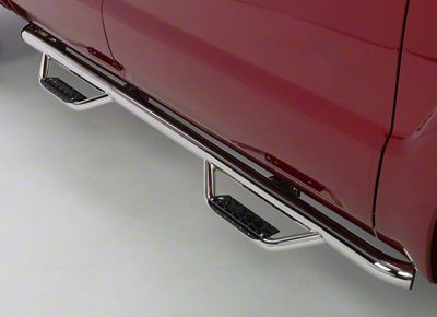 Go Rhino Dominator D2 Cab Length Side Step Bars - Stainless Steel (09-18 RAM 1500 Crew Cab)
