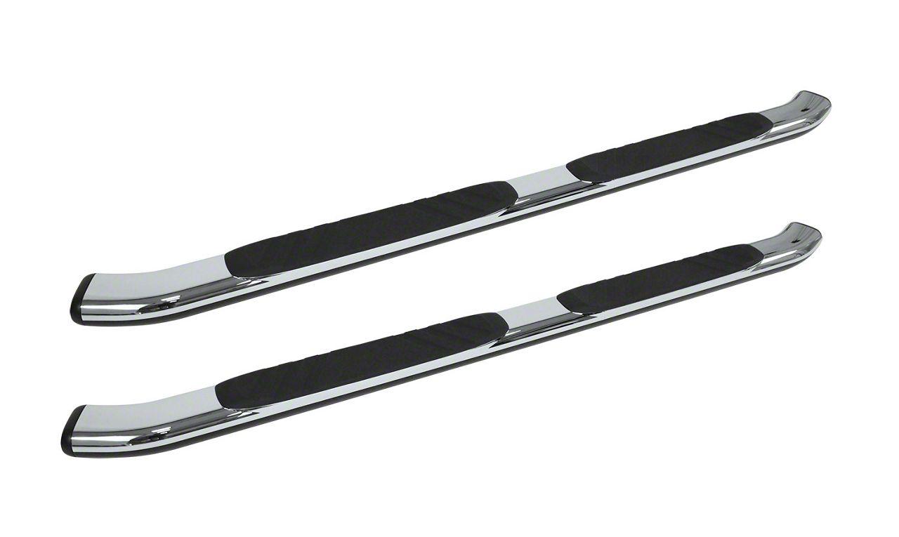 Go Rhino 5 in. OE Xtreme Composite Side Step Bars - Chrome (09-18 RAM 1500 Quad Cab)