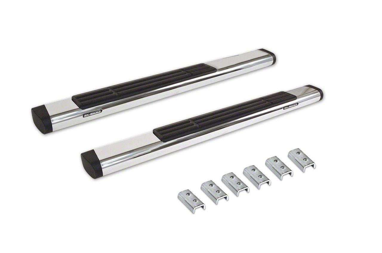 Go Rhino 6 in. OE Xtreme Side Step Bars - Stainless Steel (09-18 RAM 1500 Regular Cab)