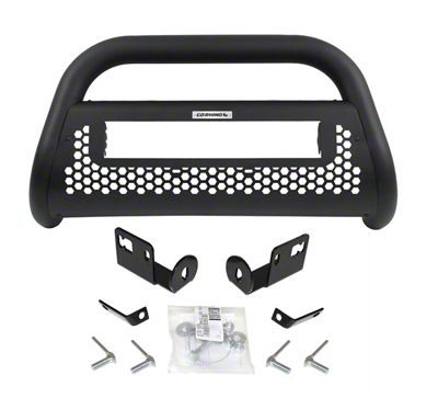 Go Rhino RC2 LR Bull Bar w/ 20 in. LED Light Bar Mounting Brackets - Textured Black (09-18 RAM 1500, Excluding Rebel)