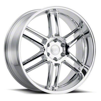 Black Rhino Katavi Chrome 5-Lug Wheel - 20x9 (02-18 RAM 1500, Excluding Mega Cab)