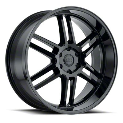 Black Rhino Katavi Gloss Black 5-Lug Wheel - 22x10 (02-18 RAM 1500, Excluding Mega Cab)
