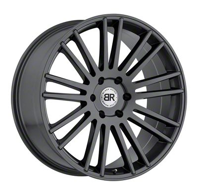 Black Rhino Kruger Gloss Gunmetal 5-Lug Wheel - 24x10 (02-18 RAM 1500, Excluding Mega Cab)