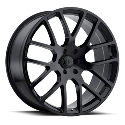 Black Rhino Kunene Gloss Black 5-Lug Wheel - 24x10 (02-18 RAM 1500, Excluding Mega Cab)