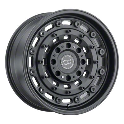 Black Rhino Arsenal Textured Matte Black 8-Lug Wheel - 20x9.5 (06-08 RAM 1500 Mega Cab)