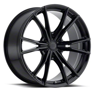 Black Rhino Zion Gloss Black 6-Lug Wheel - 22x9.5 (2019 RAM 1500)