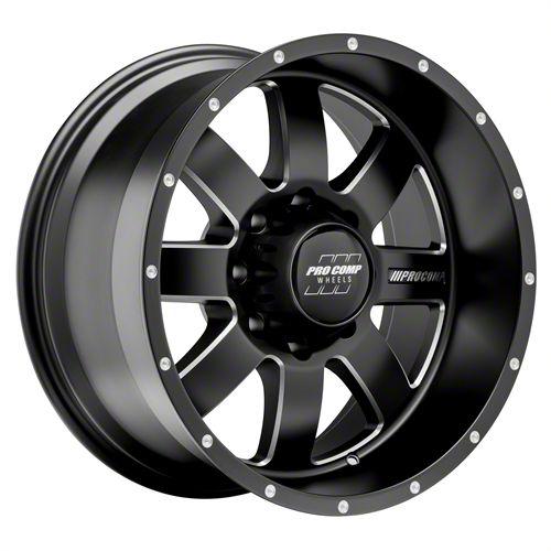 Pro Comp Trilogy Satin Black 5-Lug Wheel - 20x10 (06-08 RAM 1500 Mega Cab)