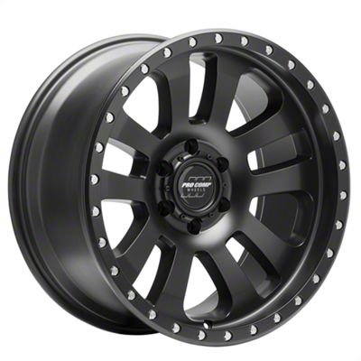 Pro Comp Prodigy Satin Black 6-Lug Wheel - 20x9.5 (2019 RAM 1500)
