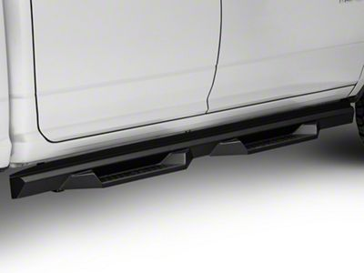 Rough Country Cab Length DS2 Drop Side Step Bars (09-18 RAM 1500 Crew Cab)