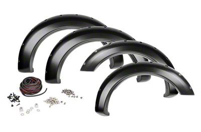 Rough Country Pocket Fender Flares - Flat Black (02-08 RAM 1500)