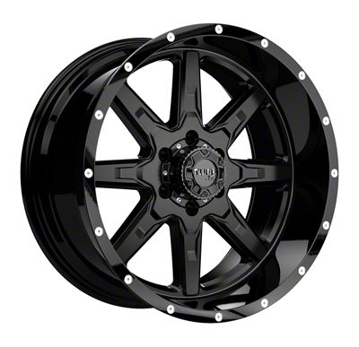 Tuff A.T. T15 Satin Black 6-Lug Wheel - 17x9 (2019 RAM 1500)