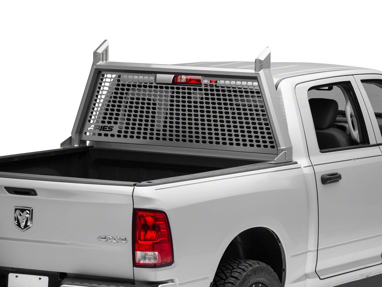 Aries Automotive AdvantEDGE Headache Rack - Chrome (09-18 RAM 1500 w/o RAM Box)