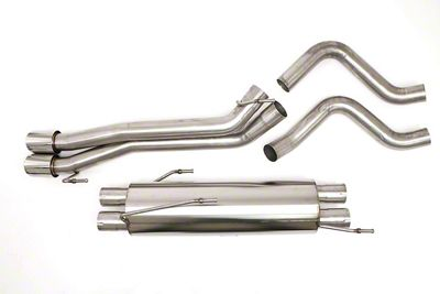Billy Boat Dual Exhaust System - Rear Exit (04-06 RAM 1500 SRT-10)