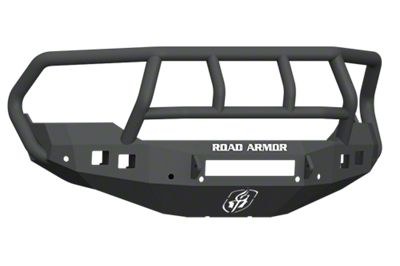 Road Armor Stealth Non-Winch Front Bumper w/ Titan II Guard - Satin Black (13-18 RAM 1500, Excluding Rebel)