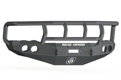Road Armor Stealth Winch Front Bumper w/ Titan II Guard - Satin Black (02-05 RAM 1500)