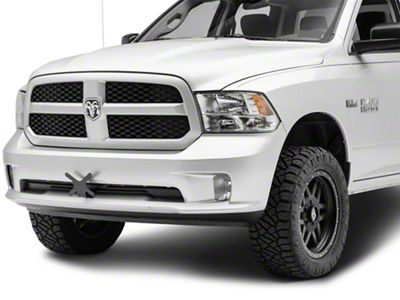 Detachable Front License Plate Bracket for Off-Road Bumpers (02-19 RAM 1500)