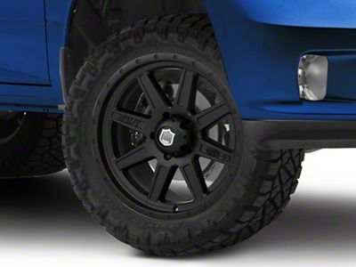 Mickey Thompson Deegan 38 Pro 2 Black 5-Lug Wheel - 20x9 (02-18 RAM 1500, Excluding Mega Cab)