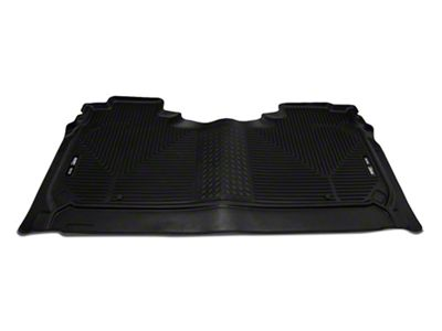 Husky WeatherBeater 2nd Seat Floor Liner - Black (2019 RAM 1500 Crew Cab)
