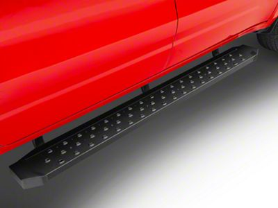 Barricade Rattler Running Boards - Black (2019 RAM 1500 Quad Cab)