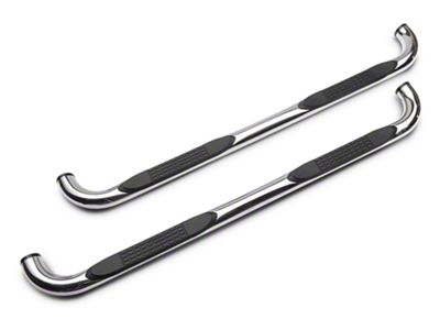 Duratrek 3 in. Side Step Bars - Stainless Steel (2019 RAM 1500 Quad Cab)