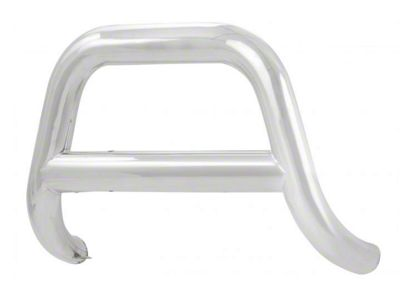 Luverne 4 in. Oval Bull Bar - Polished Stainless (09-18 RAM 1500, Excluding Rebel)