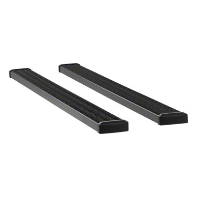 Luverne Grip Step 7 in. Wheel-to-Wheel Rocker Mount Running Boards - Textured Black (09-18 RAM 1500 Crew Cab)