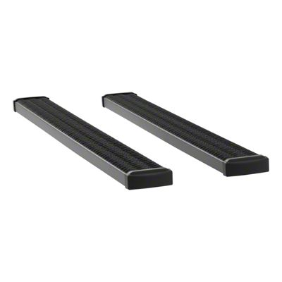 Luverne Grip Step 7 in. Rocker Mount Running Boards - Textured Black (09-18 RAM 1500 Quad Cab)