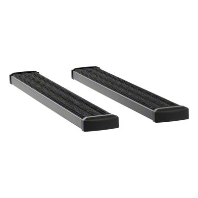 Luverne Grip Step 7 in. Body Mount Running Boards - Textured Black (09-18 RAM 1500 Regular Cab)
