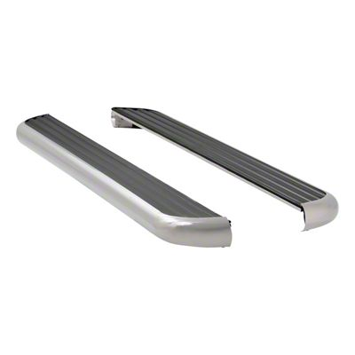 Luverne MegaStep 6.5 in. Rocker Mount Running Boards - Polished Stainless (09-18 RAM 1500 Crew Cab)