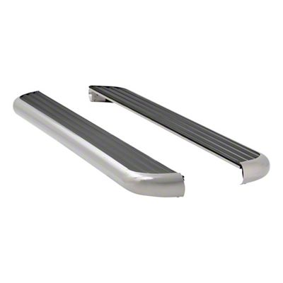 Luverne MegaStep 6.5 in. Body Mount Running Boards - Polished Stainless (09-18 RAM 1500 Crew Cab)