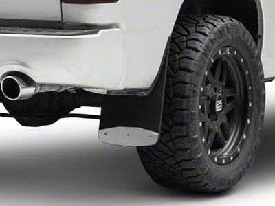 Luverne Textured Rubber Rear Mud Guards - 12 in. x 23 in. (09-18 RAM 1500)
