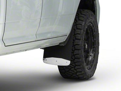 Luverne Textured Rubber Front Mud Guards - 12 in. x 23 in. (09-18 RAM 1500)