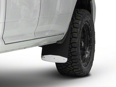 Luverne Textured Rubber Front Mud Guards - 12 in. x 20 in. (09-18 RAM 1500)