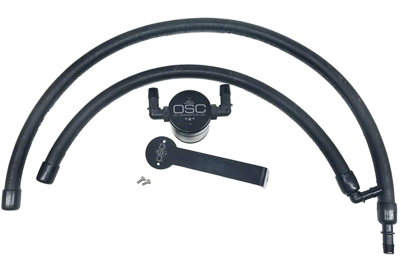 JLT V3.0 Black Oil Separator - Passenger Side (09-18 5.7L RAM 1500)