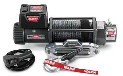 WARN 9.5XP-S 9,500 lb. Winch w/ Synthetic Rope