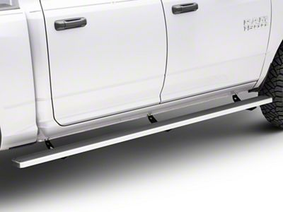 5 in. iStep Wheel-to-Wheel Running Boards - Hairline Silver (09-18 RAM 1500 Crew Cab)