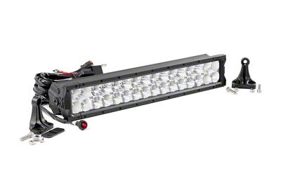 Rough Country 20 in. X5 Series Dual Row LED Light Bar - Flood/Spot Combo