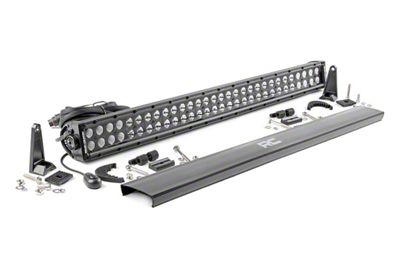 Rough Country 30 in. Black Series Dual Row LED Light Bar - Flood/Spot Combo