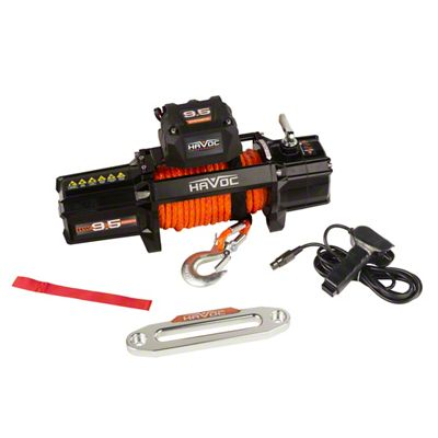 Havoc Offroad 9,500 lb. Winch w/ Synthetic Rope