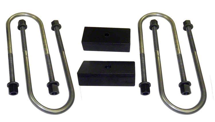 Suspension Maxx 1 in. Heavy Duty Rear Lift Block Kit (02-05 4WD RAM 1500)
