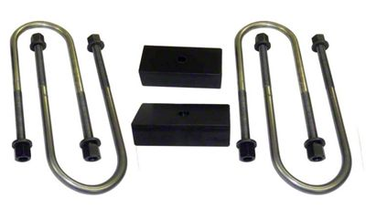 Suspension Maxx 2 in. Heavy Duty Rear Lift Block Kit (02-05 4WD RAM 1500)
