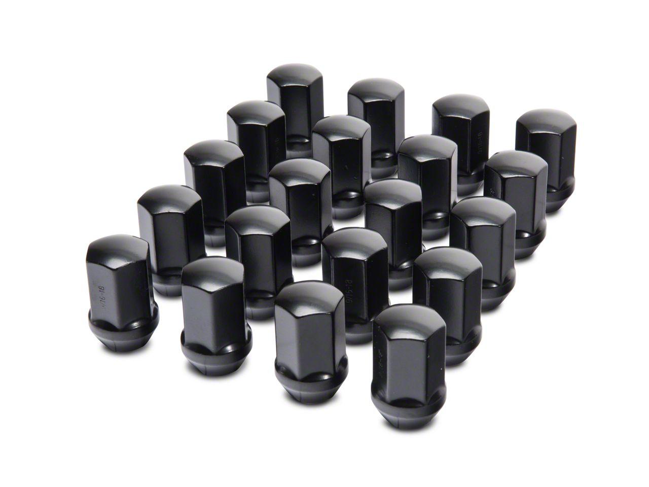 Coyote Black OEM Style Lug Nut Kit - 9/16 in. (02-11 RAM 1500)