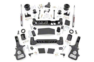 Rough Country 6 in. Suspension Lift Kit (2019 4WD RAM 1500, Excluding Rebel)