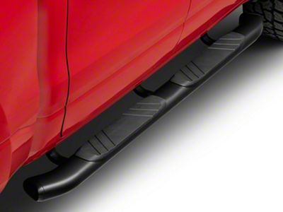 Go Rhino 5 in. OE Xtreme Composite Side Step Bars - Black (2019 RAM 1500 Crew Cab)