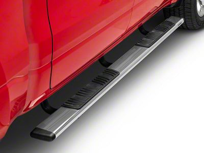 Go Rhino 5 in. OE Xtreme Low Profile Side Step Bars - Stainless Steel (2019 RAM 1500 Crew Cab)