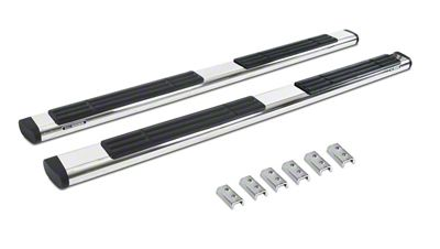 Go Rhino 6 in. OE Xtreme Side Step Bars - Stainless Steel (2019 RAM 1500 Crew Cab)
