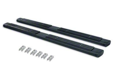Go Rhino 6 in. OE Xtreme Side Step Bars - Textured Black (2019 RAM 1500 Crew Cab)