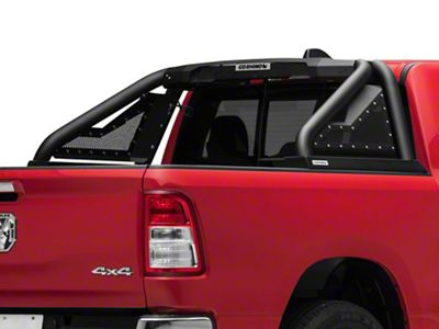 Go Rhino Sport Bar 2.0 Roll Bar w/ Power Actuated Retractable Light Mount - Textured Black (2019 RAM 1500)